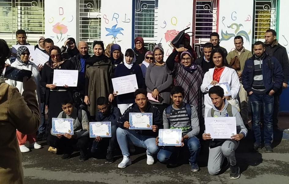 مدرسة محمد الهنيوي بالجديدة تحتضن أنشطة تأطيرية في مجال البيئة والتنمية المستدامة بمشاركة 30 مؤسسة