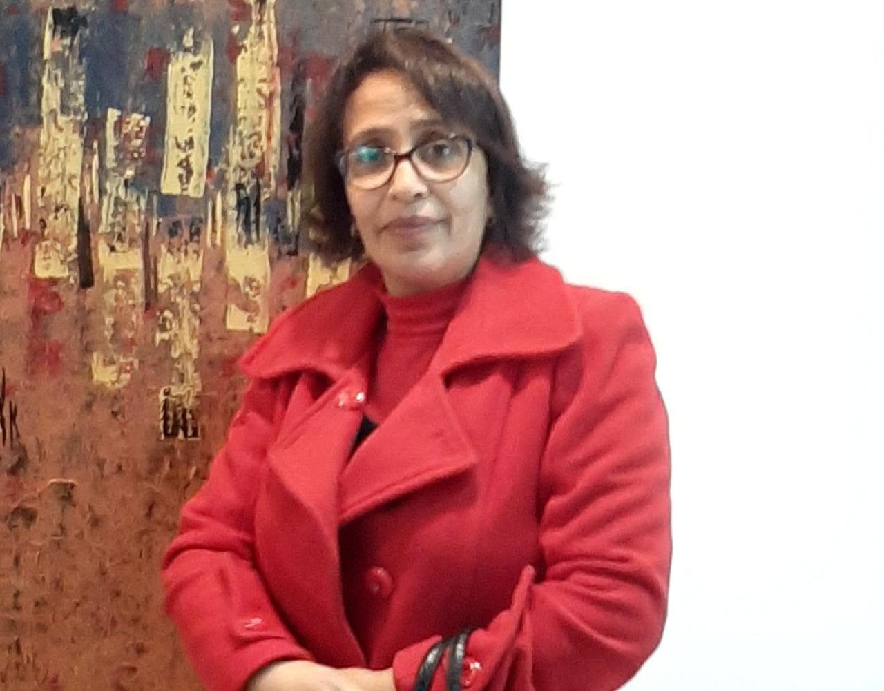 بالشفاء العاجل لرئيسة جمعية الملكي للخدمات الاجتماعية بالجديدة أمينة أرسلان