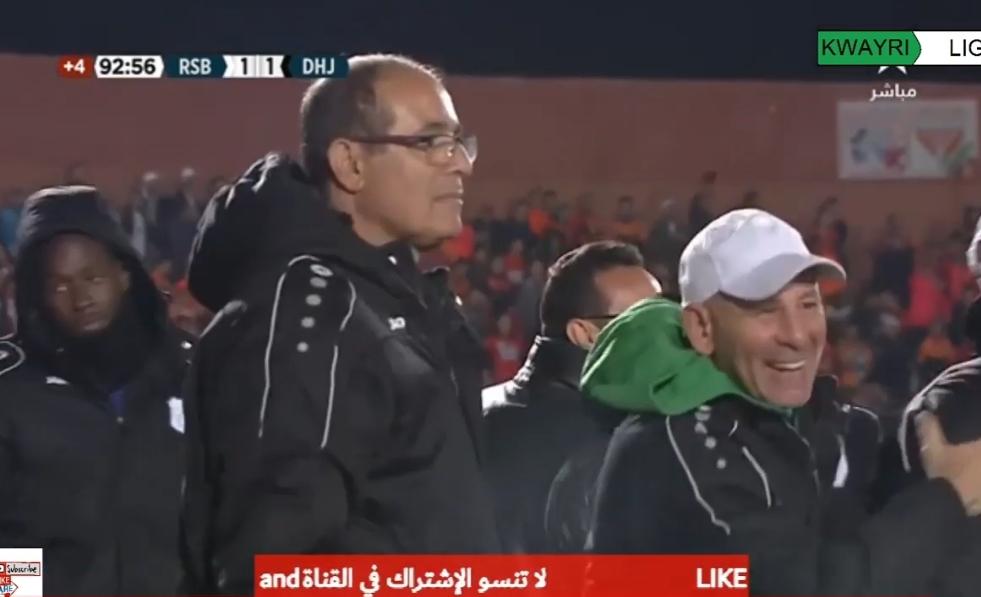 شاهد.. أهداف مباراة نهضة بركان ضد الدفاع الحسني الجديدي