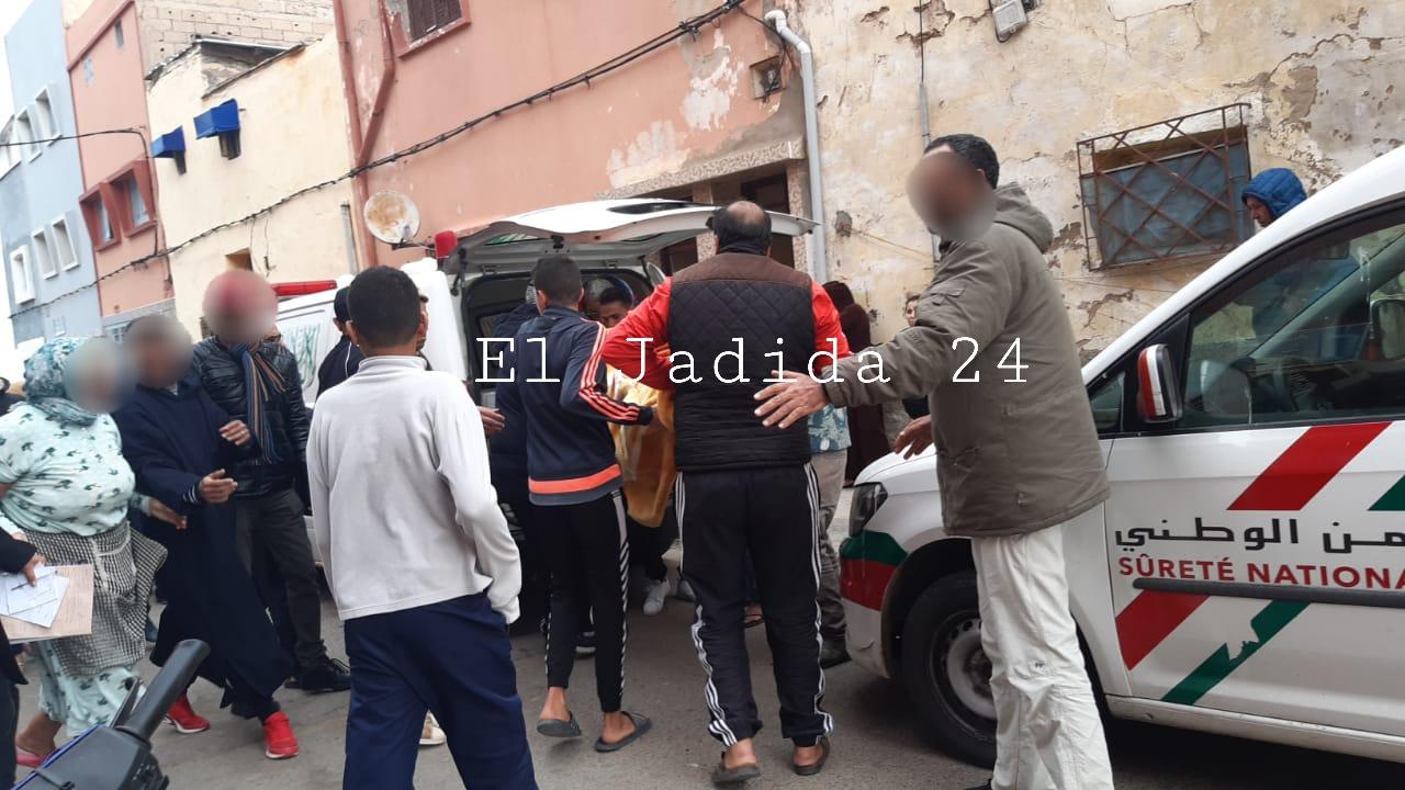 الجديدة 24 عااااجل انتحار نجار بدرب الحاج الشاوي بالجديدة
