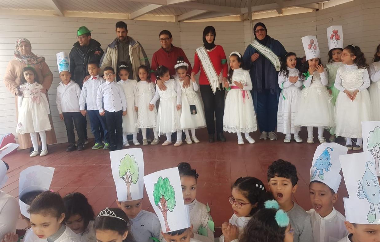 مجموعة مدارس المبادرة الخاصة بالجديدة تنخرط في مشروع المدارس الإيكولوجية