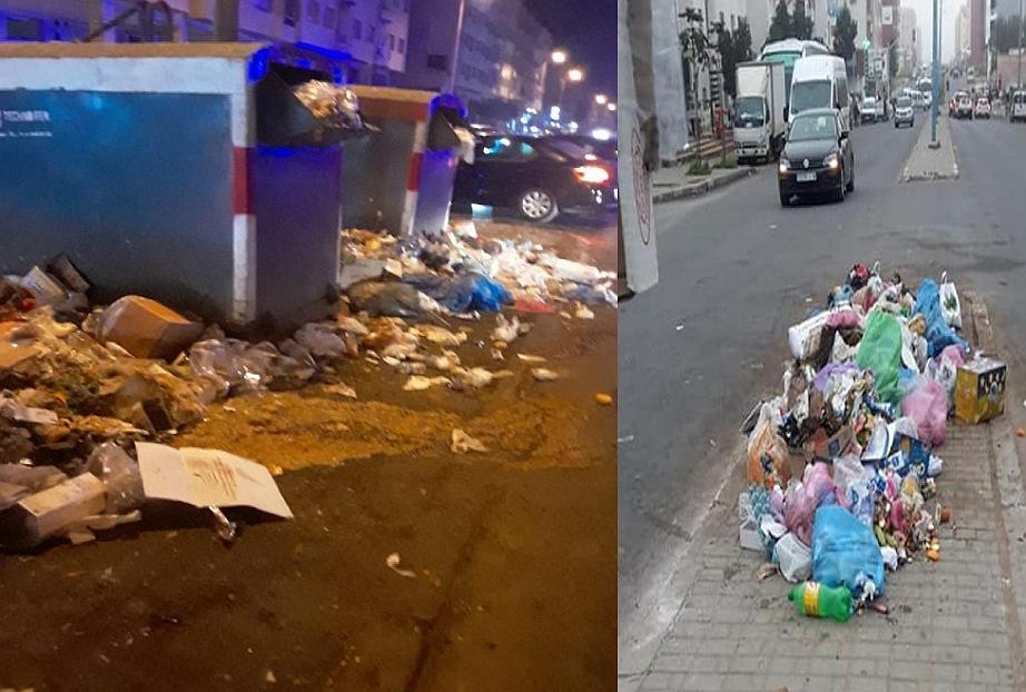 هيئات المجتمع المدني تهدد بتنظيم وقفات احتجاجية بعد تدهور خدمات قطاع النظافة بالجديدة