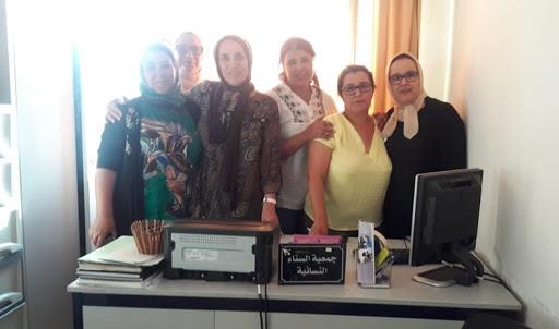جمعية السناء النسائية تساهم في تأهيل داخلية بئر أنزران بالجديدة