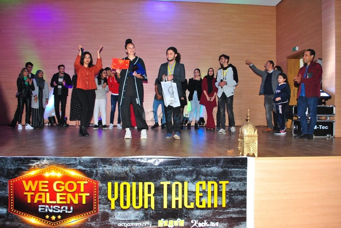 مسابقة أعرض موهبتك WE GOT TALENT  لطلبة ENSAJ