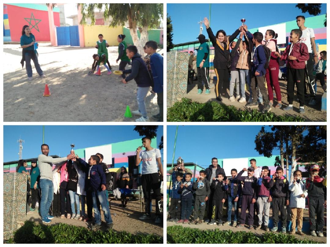 بيان حقيقة حول نشاط رياضي بمجموعة مدارس اولاد غانم