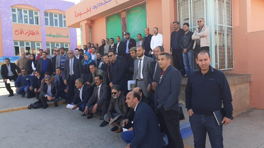 إعدادية سيدي محمد بن عبد الله تفتح أبوابها في وجه الأطر الإدارية المتدربة بالجديدة