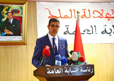 عبد النباوي يراسل ممثلي القضاء الواقف بالمغرب في موضوع سن أحكام خاصة بحالة الطوارئ الصحية