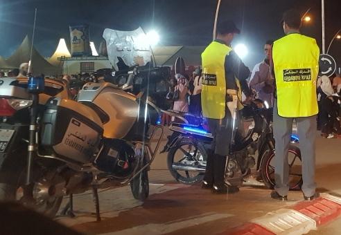درك سيدي بوزيد بإقليم الجديدة يوقف 9 أشخاص خرقوا قانون حظر التجوال