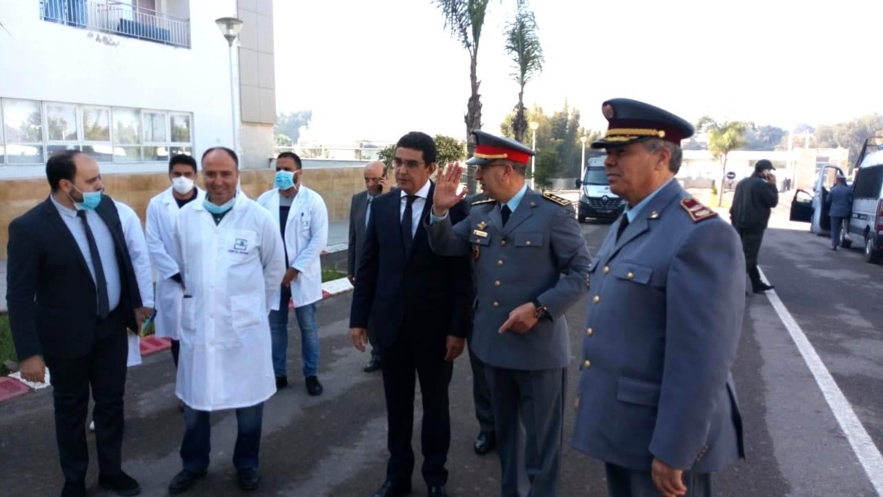 بالصور.. القيادة العامة للقوات المسلحة الملكية توفد فريقا طبيا عسكريا إلى مستشفى الجديدة