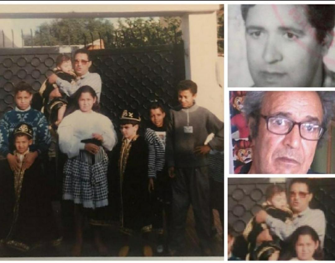 ابناء وعائلة المرحوم أحمد شاكي في الخارج يعزون في وفاة فقيد العائلة بالجديدة