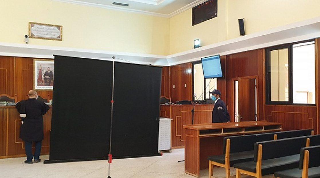 انطلاقة جلسات المحاكمة عن بعد بالقطب الجنحي لدى قصر العدالة بالجديدة