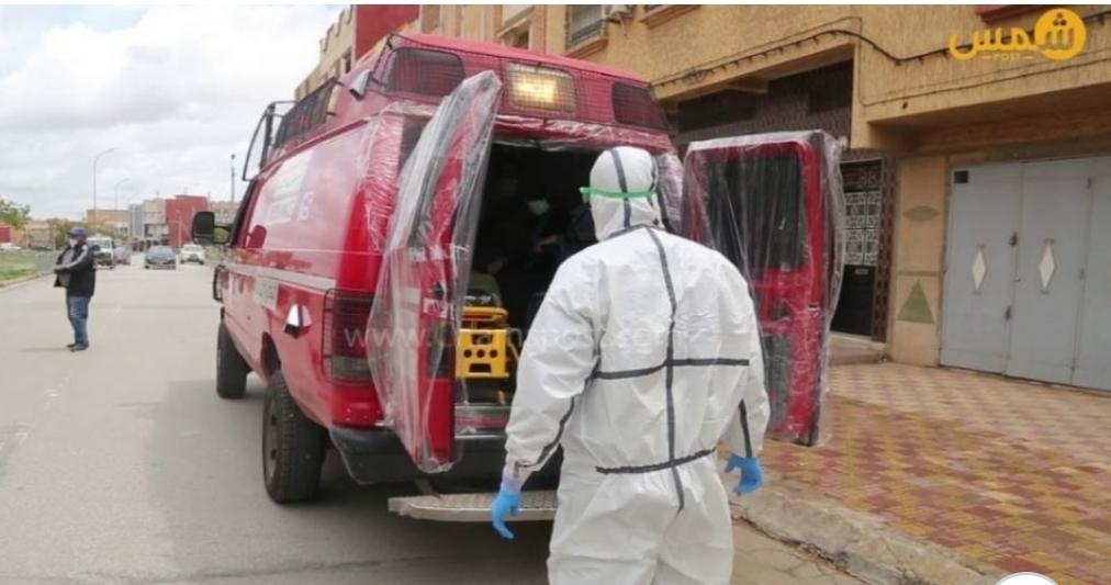 عاجل.. نقل ثاني حالة مؤكدة بكورونا باقليم سيدي بنور إلى مستشفى الجديدة