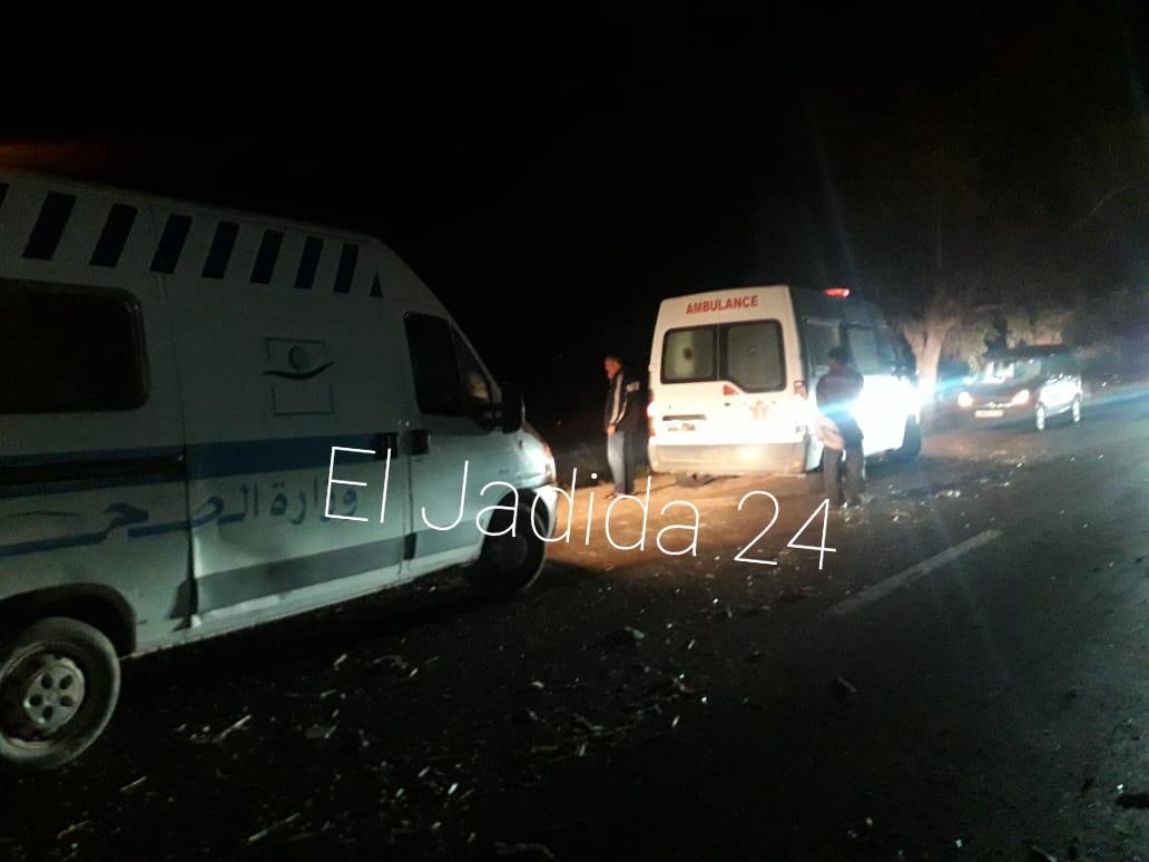 مقتل امرأة وجرح 3 آخرين في دهس شاحنة لنقل الحليب لعربة مجرورة قرب اولاد فرج