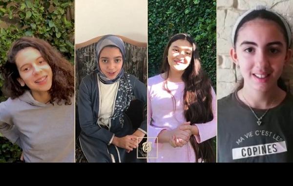 تلاميذ مؤسسة الاحسان بالجديدة يشكرون السلطات والاطباء وكل المتدخلين في مواجهة جائحة كورونا