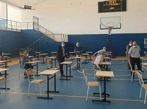 9317 مترشحا يجتازون إمتحانات البكالوريا بإقليم الجديدة في ظروف استثنائية فرضتها جائحة كورونا