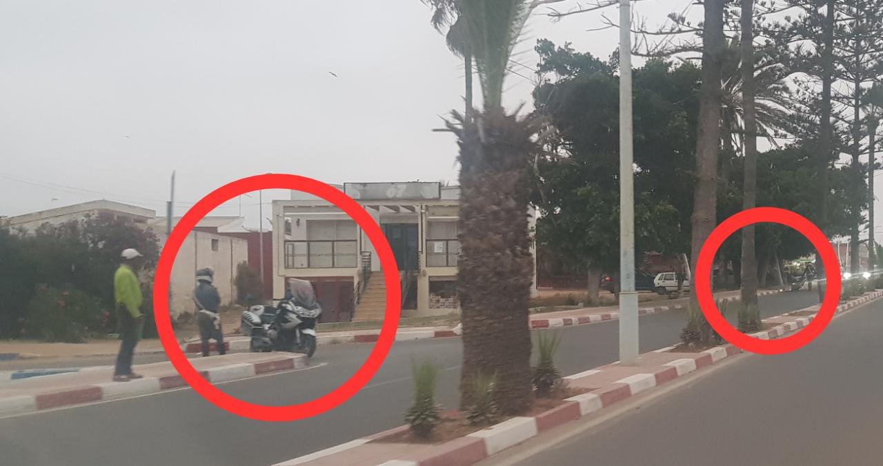 الدرك الملكي بالجديدة يضرب بقوة ضد مخالفي القوانين في منتجع سيدي بوزيد