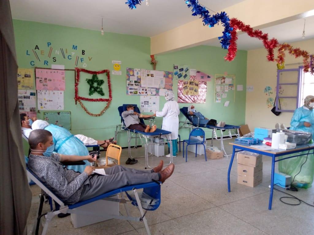 نجاح كبير للحملة الثانية للتبرع بالدم في مدينة البئر الجديد