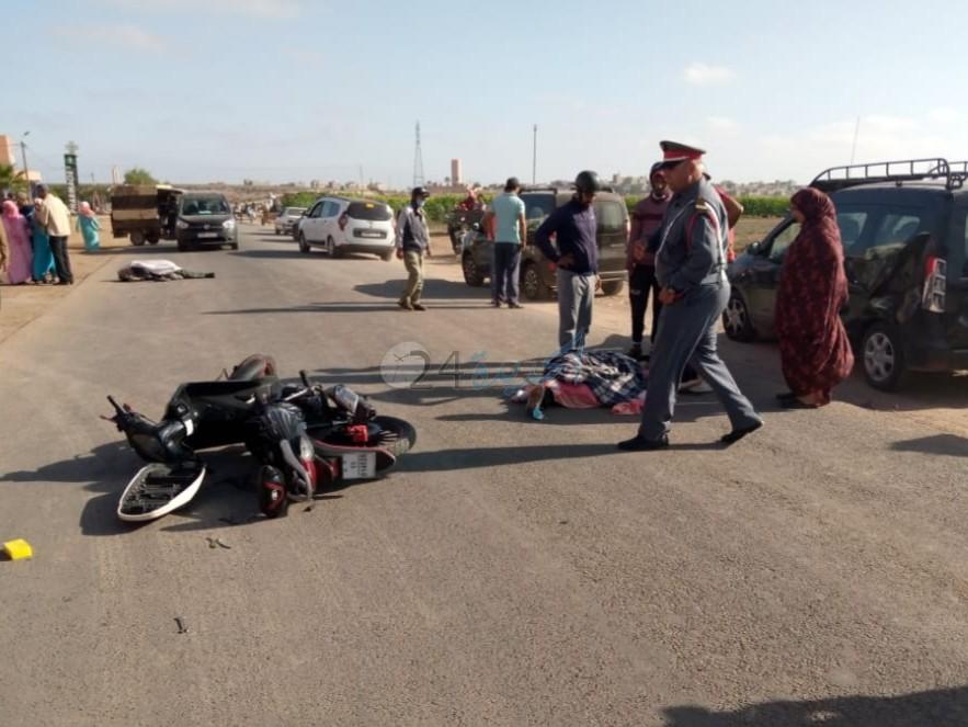 دراجة نارية تتسبب في حادثة مميتة قرب مدينة البئر الجديد