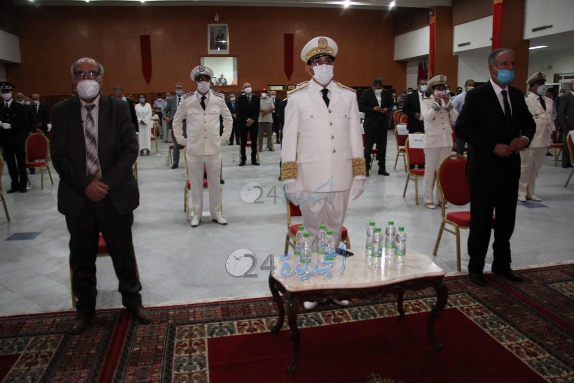 بالصور .. عامل الجديدة يترأس مراسيم الإنصات للخطاب الملكي بمناسبة عيد العرش المجيد