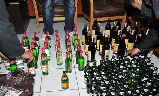 مصالح درك الوليدية توقف ''كراب'' وتحجز كميات مهمة من الخمور المهربة بجماعة الغربية