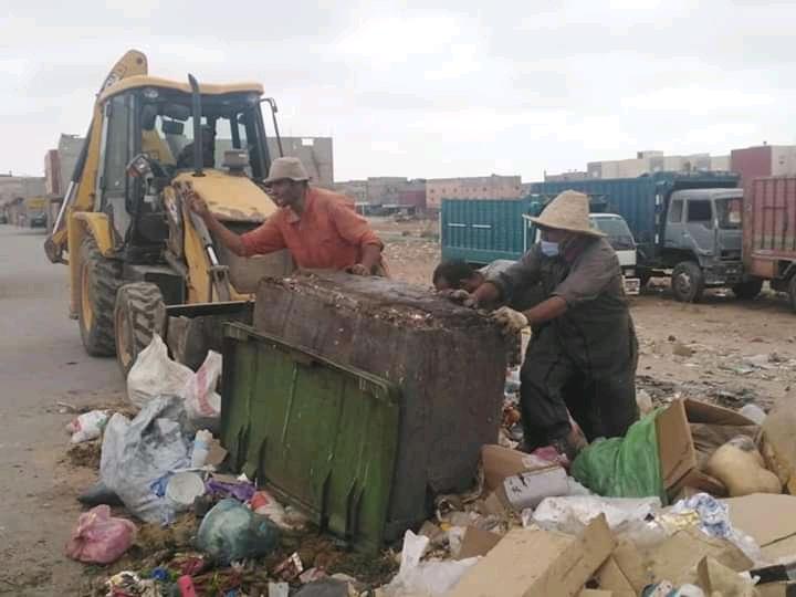تعبئة شاملة لعمال النظافة بجماعة سيدي علي بنحمدوش لجمع نفايات العيد