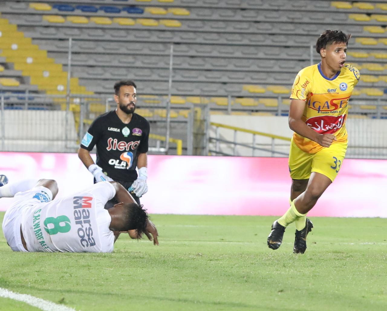 مهاجم نهضة الزمامرة لحسن دهدوه : لا خيار أمامنا سوى الانتصار في مباراة حسنية أكادير