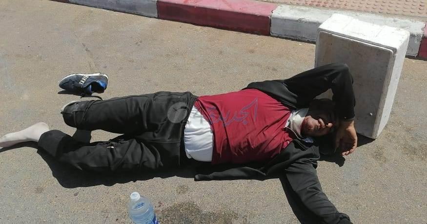 خليفة قائد قيادة الوليدية يتعرض الى محاولة القتل دهسا بسيارة ونقله للمستشفى في حالة حرجة