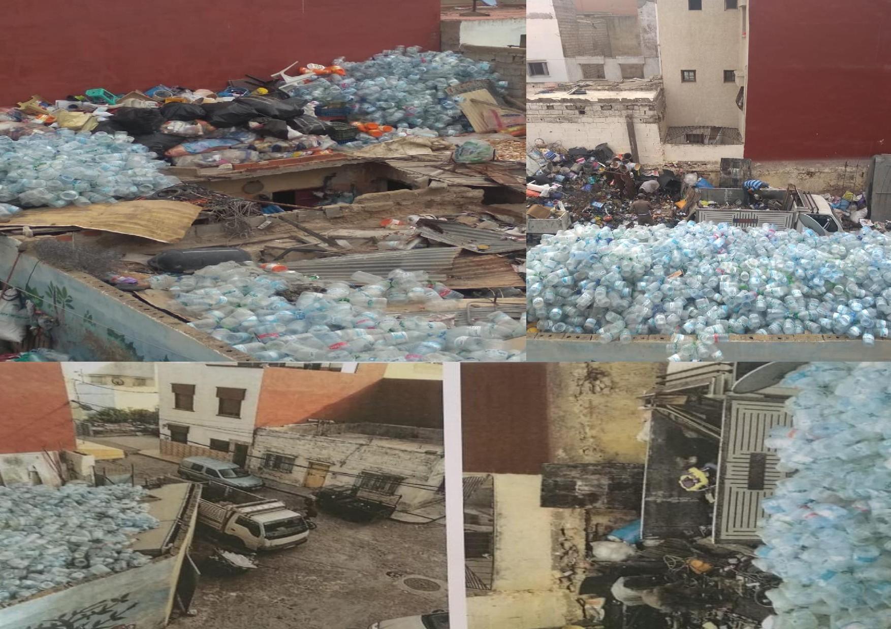 سكان  دوار بوعلي بتراب الملحقة الادارية الخامسة بالجديدة يشتكون