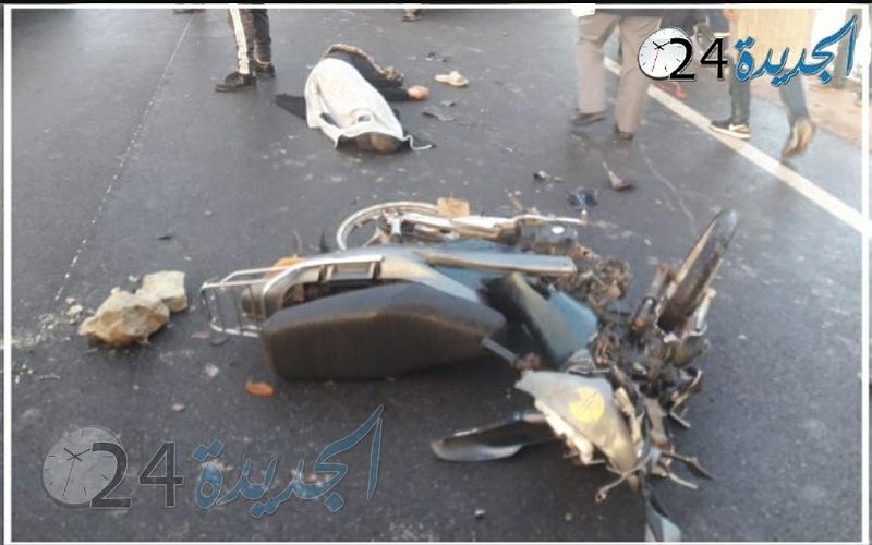 قتيلان في حادثة سير بتراب جماعة سيدي علي بنحمدوش بإقليم الجديدة