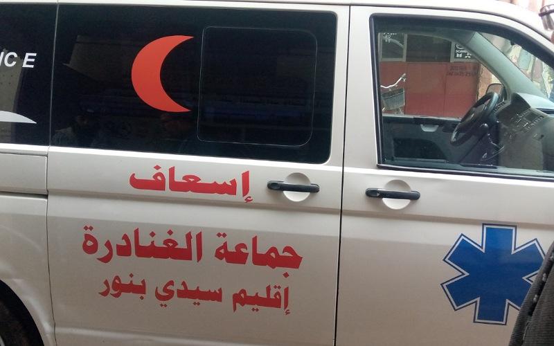 جماعة الغنادرة تعزز مواردها بسيارة اسعاف قادمة من غرونبل الفرنسية