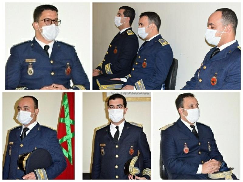عامل إقليم سيدي بنور  يشرف على تنصيب رجال السلطة الجدد