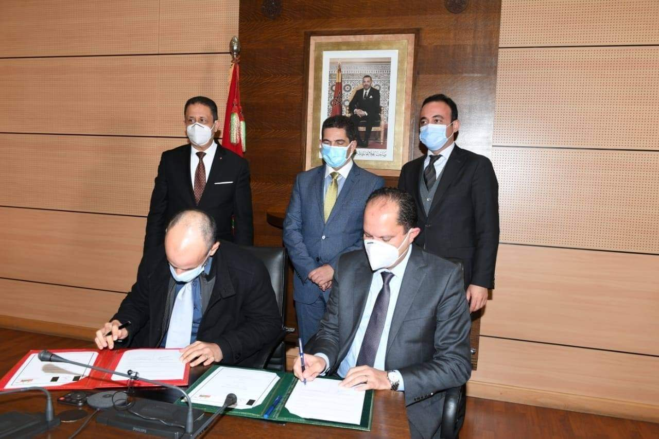 توقيع اتفاقية شراكة لبناء إعدادية وداخلية بجماعة أولاد سي بوحيا بإقليم سيدي بنور
