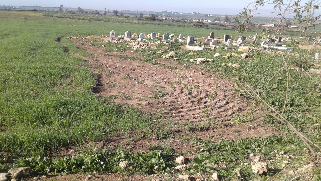 ساكنة الشعيبات تطالب بتسييج مقبرة دوار المحارزة سيدي عبد القادر بتراب الجماعة