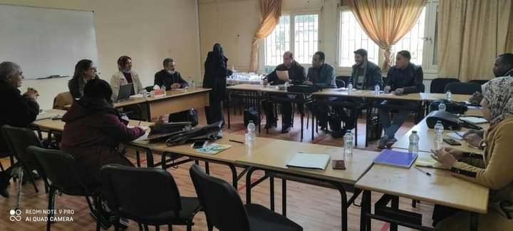 لقاء تواصلي بكلية الآداب الجديدة، ' البحث الأكاديمي وأفقه في الجامعة المغربية '