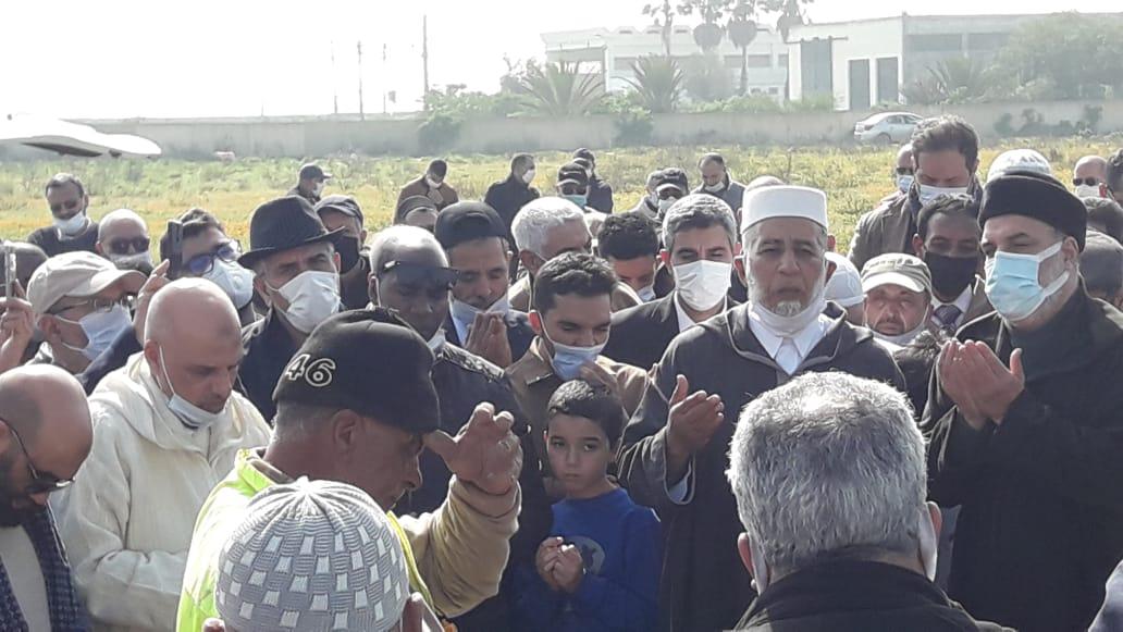 الجديدة : تشييع جثمان والدة البرلماني أبوزيد المقرىء الإدريسي بحضور الوزير مصطفى الرميد