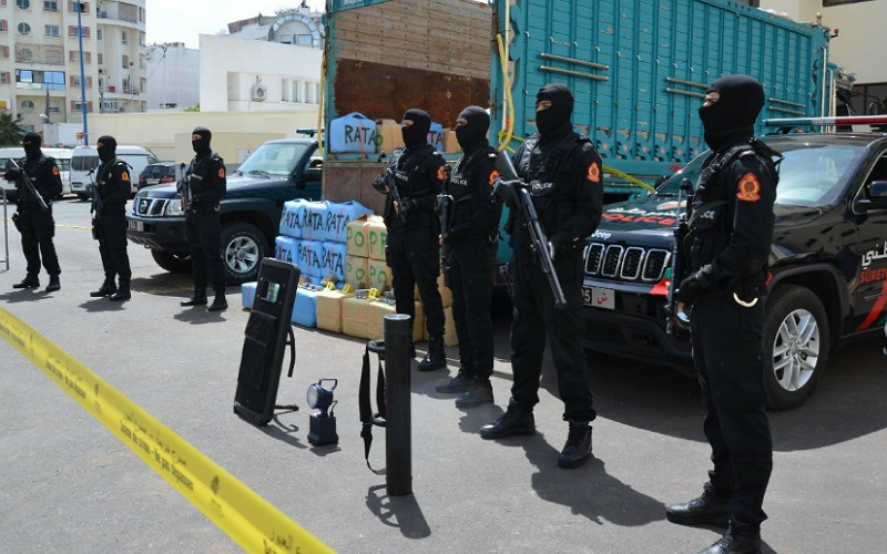 ''الديستي'' والشرطة القضائية تجهضان عملية للتهريب الدولي للمخدرات بإقليم الجديدة