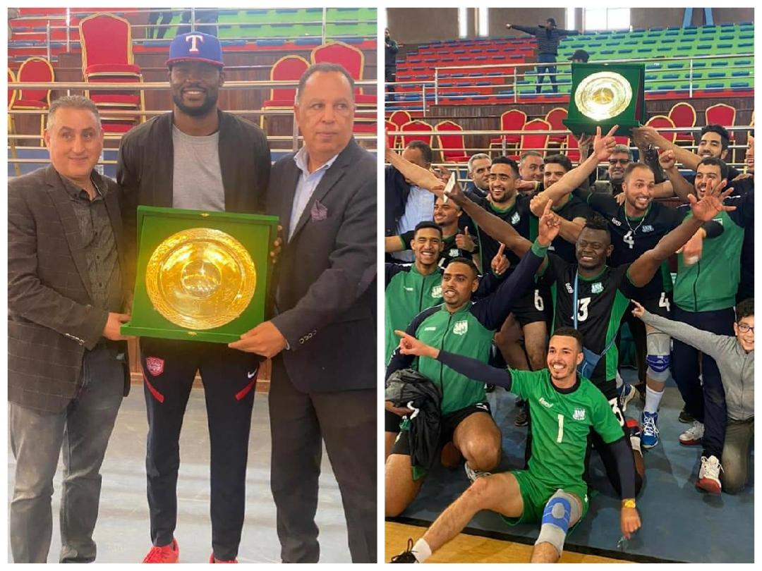 الدفاع الجديدي لكرة الطائرة ذكور يفوز ببطولة القسم الأول ويحقق الصعود للقسم الممتاز