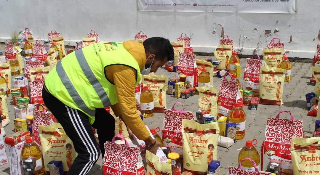سيدي بنور.. استفادة 6606 أسرة من الدعم الغذائي رمضان 1442