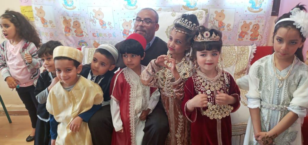 مؤسسة ابراهيم الروداني في حي السلام تحتفي ببراعم التعليم الأولي بمناسبة ليلة القدر
