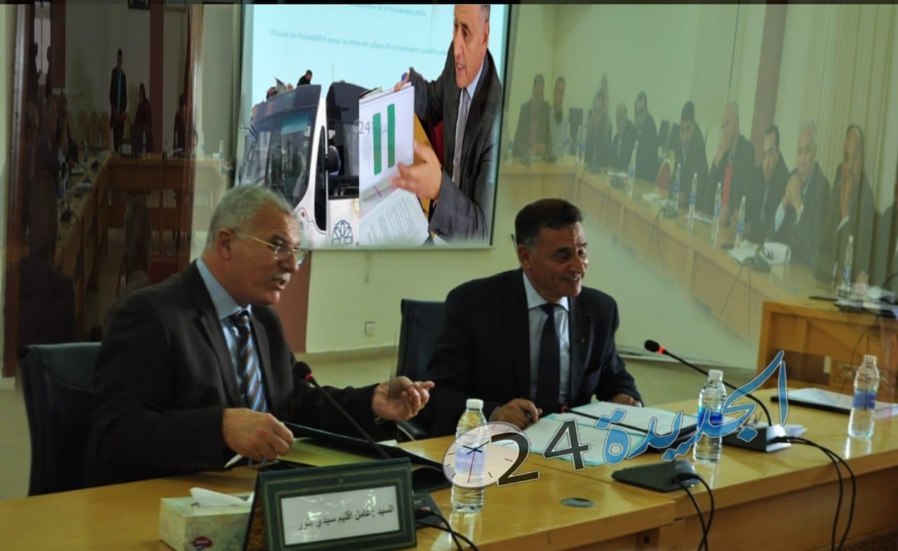 مشروع النقل الحضري بين الجماعات باقليم سيدي بنور يخرج إلى الوجود باحداث 9 خطوط