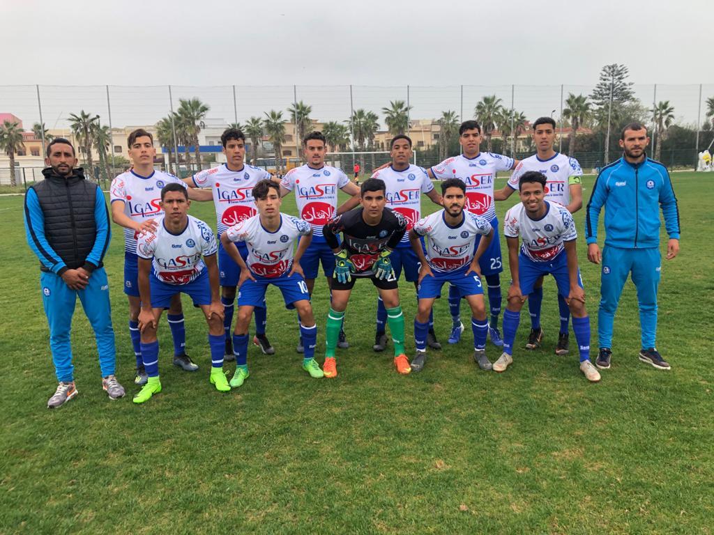 المدرب هشام الحسناوي يقود فريق شبان نهضة الزمامرة للفوز ببطولة الشبان وتأهله إلى مباريات السد