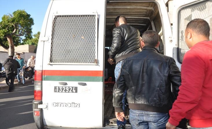 أمن ازمور يلقي القبض على مبحوث عنه من داخل الملحقة الإدارية الثانية.