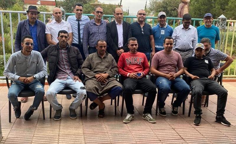 جواد المصطفى منسقا محليا لفرع حزب الحركة الديمقراطية الاجتماعية بجماعة اولاد احسين.