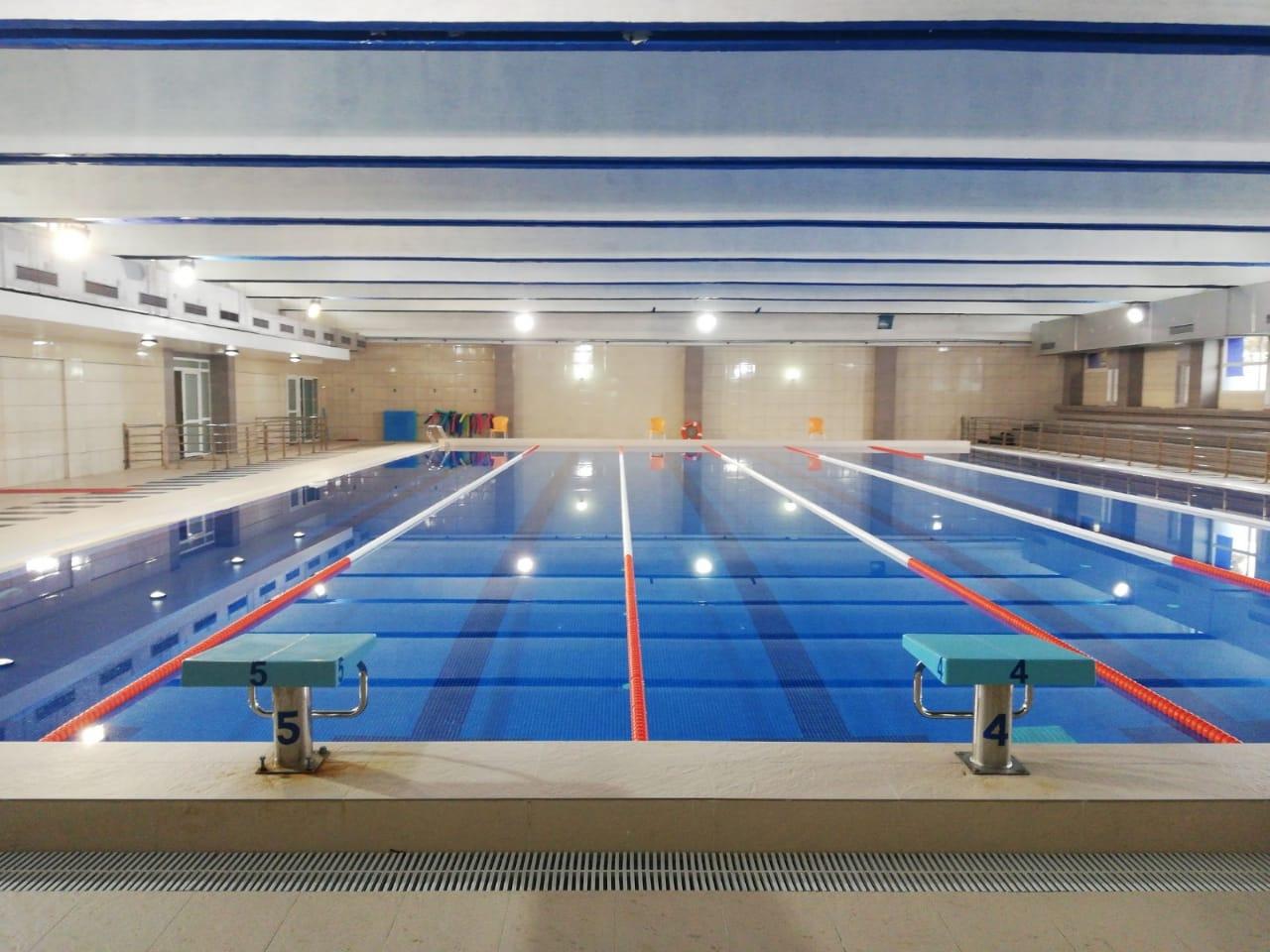 المسبح المغطى بالجديدة بعود لاحتضان الممارسين وفق شروط وقائية صارمة
