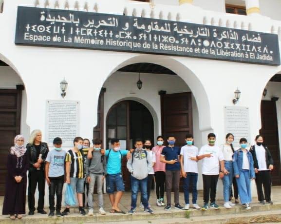 مجموعة مدارس الزيتونة تنظم زيارة ميدانية لفضاء الذاكرة التاريخية للمقاومة والتحرير بالجديدة