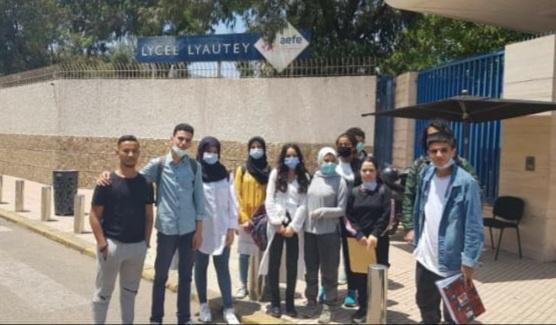تلاميذ الباكالوريا بالمدرسة الدولية بالجديدة يجتازون امتحان باكالوريا البعثة الفرنسية