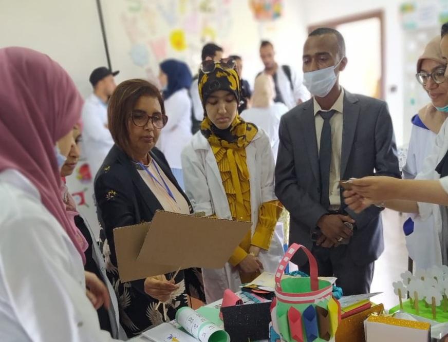 معرض الانتاجات الديداكتيكية يستهوي زوار المركز الإقليمي لمهن التربية والتكوين بالجديدة