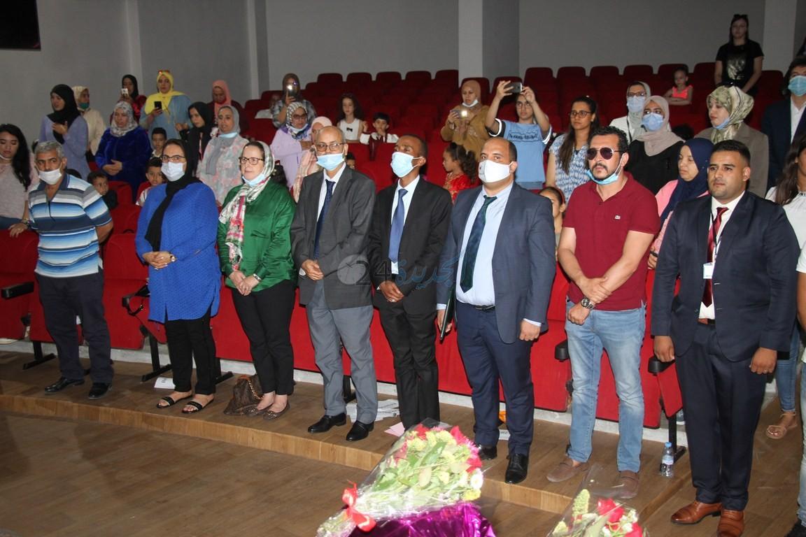 حفل فني في اختتام فعاليات مهرجان إبداعات براعم وزهرات التعليم الأولي بإقليم الجديدة
