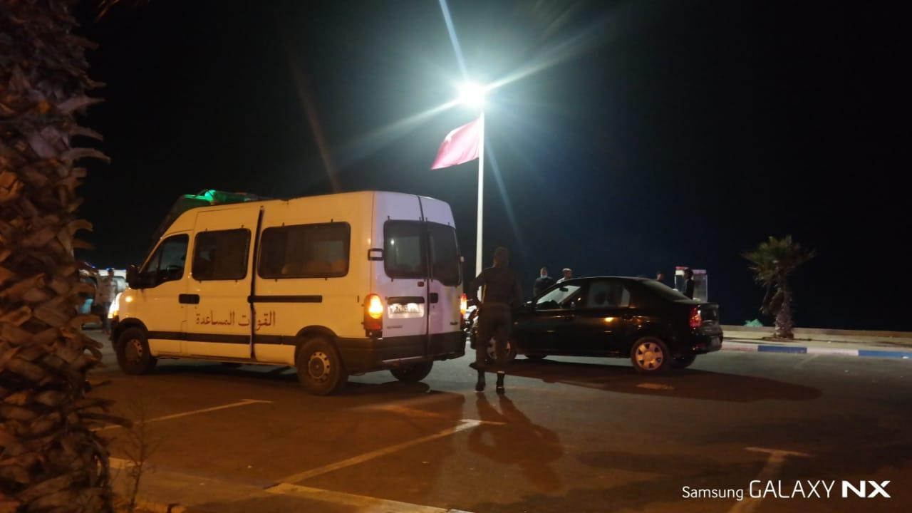 السلطات تشدد التدابير الاحترازية بمنتجع سيدي بوزيد خلال فترة الإغلاق الليلي
