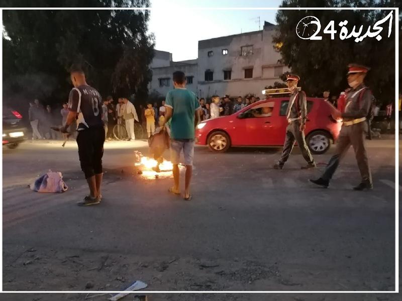 بالصور.. شاحنة تدهس شابا وترديه قتيلا بمركز سيدي علي بنحمدوش قرب آزمور